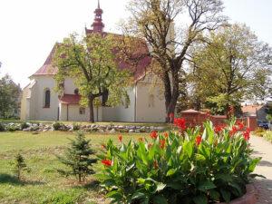 Kościół drewniany pod wezwaniem Jana Chrzciciela